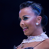 23 January 2010: Sara Casini performs during the Masters Bercy Latin and Ballroom (standard) Dancesport Championship 2010, at Palais Omnisports Paris Bercy, in Paris, France. .