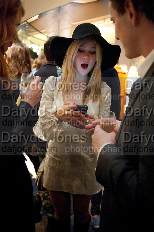 JAZZY DE LISSER,  Vogue Fashion night out.- Alexandra Shulman and Paddy Byng are host a party  to celebrate the launch for FashionÕs Night Out At Asprey. Bond St and afterwards in the street. London. 8 September 2011. <br />  <br />  , -DO NOT ARCHIVE-© Copyright Photograph by Dafydd Jones. 248 Clapham Rd. London SW9 0PZ. Tel 0207 820 0771. www.dafjones.com.<br /> JAZZY DE LISSER,  Vogue Fashion night out.- Alexandra Shulman and Paddy Byng are host a party  to celebrate the launch for Fashion's Night Out At Asprey. Bond St and afterwards in the street. London. 8 September 2011. <br />  <br />  , -DO NOT ARCHIVE-© Copyright Photograph by Dafydd Jones. 248 Clapham Rd. London SW9 0PZ. Tel 0207 820 0771. www.dafjones.com.