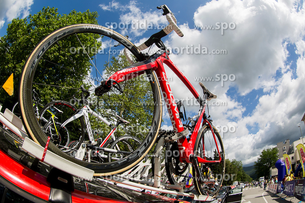 Bike before Stage 2 of 23rd Tour of Slovenia 2016 / Tour de Slovenie from Nova Gorica to Golte  (217,2 km) cycling race on June 17, 2016 in Slovenia. Photo by Urban Urbanc / Sportida