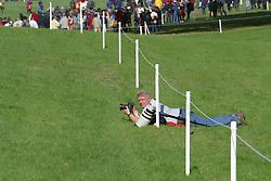 Caremans Dirk, BEL<br /> World Championship Young Eventing Horses<br /> Le Lion d'Angers 2002<br /> &copy; Hippo Foto <br /> 19/10/02