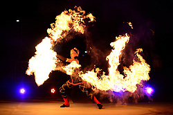 A fire show during the RSG Summer Party held at Ashton Gate Stadium   - Mandatory by-line: Dougie Allward/JMP - 18/05/2017 - RSG Summer Party