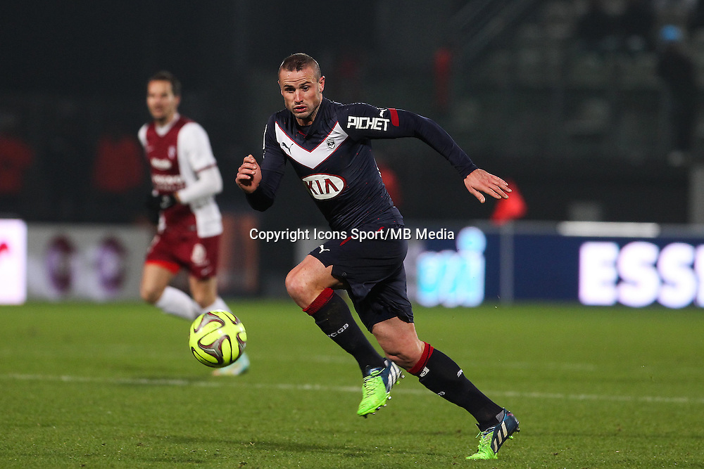 Nicolas PALLOIS - 03.12.2014 - Metz / Bordeaux - 16eme journee de Ligue 1 -<br />