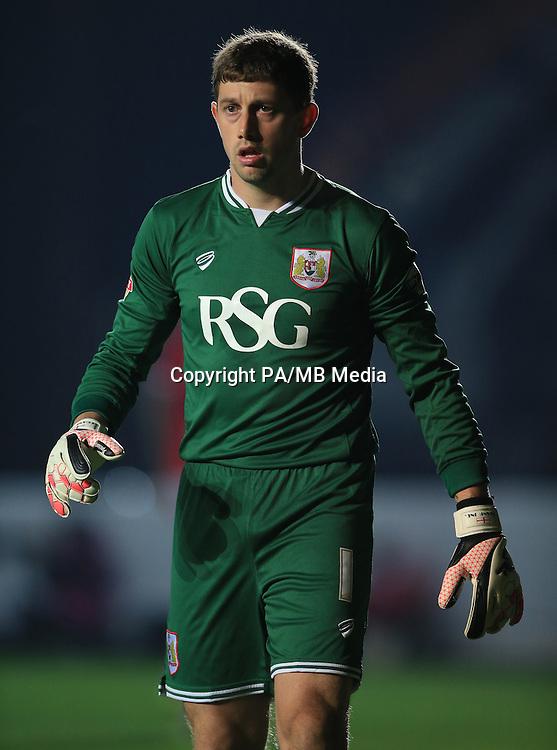 Bristol City goalkeeper Frank Fielding