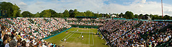 LONDON, ENGLAND - Friday, June 26, 2009: The new Court 2 during the Ladies' Doubles 2nd Round match on day five of the Wimbledon Lawn Tennis Championships at the All England Lawn Tennis and Croquet Club. (Pic by David Rawcliffe/Propaganda)