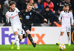 December 13, 2018 - Istanbul, Turkey - 181213 Adem Ljajic of Besiktas and Anders Christiansen of MalmÅ¡ FF during the Europa league match between Besiktas and MalmÅ¡ FF on December 13, 2018 in Istanbul..Photo: Petter Arvidson / BILDBYRN / kod PA / 92175 (Credit Image: © Petter Arvidson/Bildbyran via ZUMA Press)