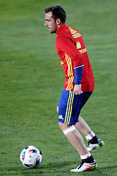 21.03.2016, Ciudad del Futbol de Las Rozas, Madrid, ESP, RFEF, Training spanische Fußballnationalmannschaft, im Bild Spain's Paco Alcacer // during a practice session of spanish national football Team at the Ciudad del Futbol de Las Rozas in Madrid, Spain on 2016/03/21. EXPA Pictures © 2016, PhotoCredit: EXPA/ Alterphotos/ Acero<br /> <br /> *****ATTENTION - OUT of ESP, SUI*****