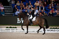 Krinke-Susmelj, Marcela (SUI) Smeyers Molberg<br /> Stuttgart - German Masters 2016<br /> © www.sportfotos-lafrentz.de
