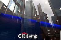CitiBank at 399 Park Avenue in New York. <br /> <br /> Photo by Robert Caplin