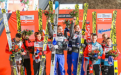 18.03.2017, Vikersundbakken, Vikersund, NOR, FIS Weltcup Ski Sprung, Raw Air, Vikersund, Team Skifliegen, im Bild Polen, 2. Platz, Sieger Team Norwegen, Österreich, 3. Platz // Poland, 2nd place, winner team Norway, Austria, 3rd place // during the Team Event of the 4th Stage of the Raw Air Series of FIS Ski Jumping World Cup at the Vikersundbakken in Vikersund, Norway on 2017/03/18. EXPA Pictures © 2017, PhotoCredit: EXPA/ Tadeusz Mieczynski