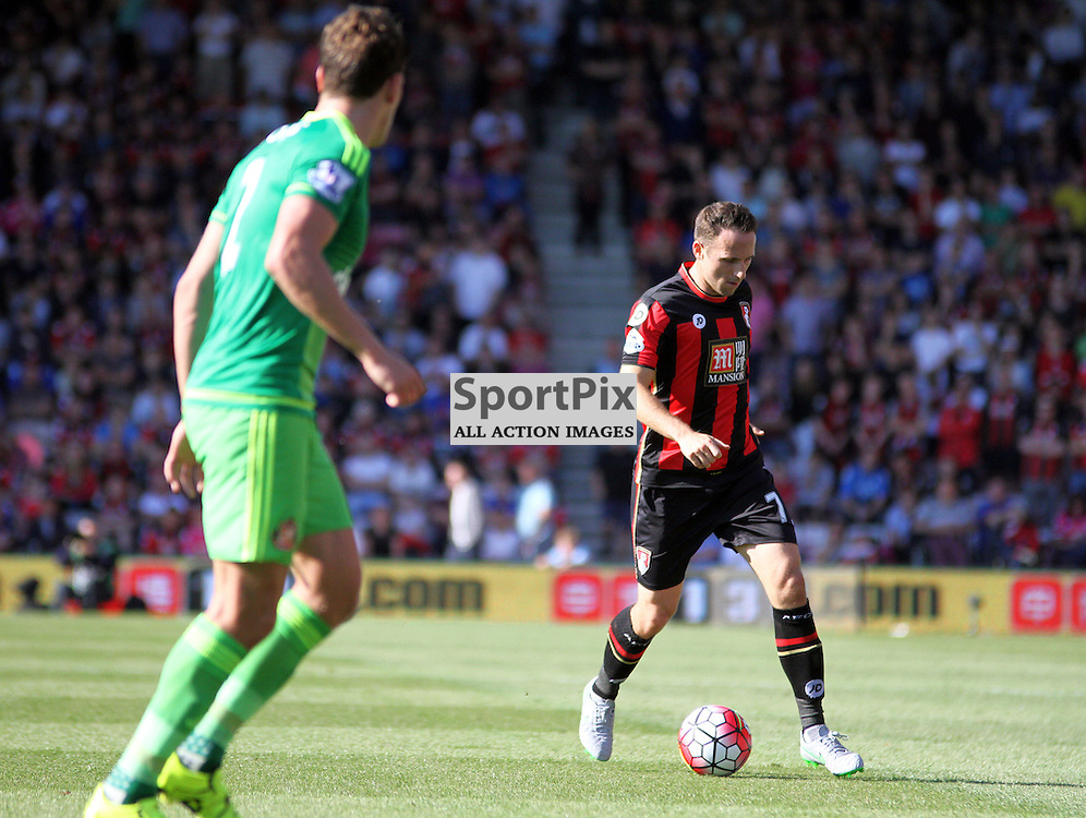 Marc Pugh on the ball During Bournemouth vs Sunderland on Saturday 19th September 2015.