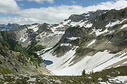 Frisco Mountain seen from Maple Pass, North Cascades