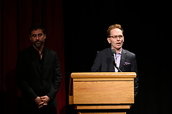 """Bryn Mooser and Skye Fitzgerald of the Oscar® nominated documentary short subject """"Lifeboat"""" during the Academy of Motion Picture Arts and Sciences' """"Oscar Week: Documentaries"""" event on Tuesday, February 19, 2019 at the Samuel Goldwyn Theater in Beverly Hills. The Oscars® will be presented on Sunday, February 24, 2019, at the Dolby Theatre® in Hollywood, CA and televised live by the ABC Television Network."""