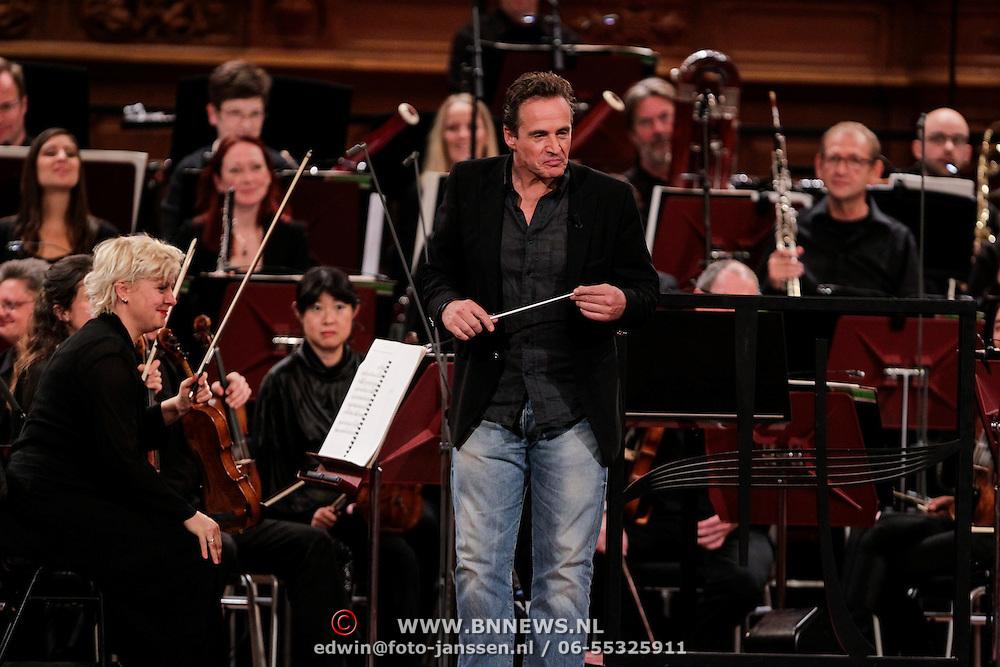 NLD/Haarlem/20121002- Opname AVRO's programma Maestro, Joep Sertons