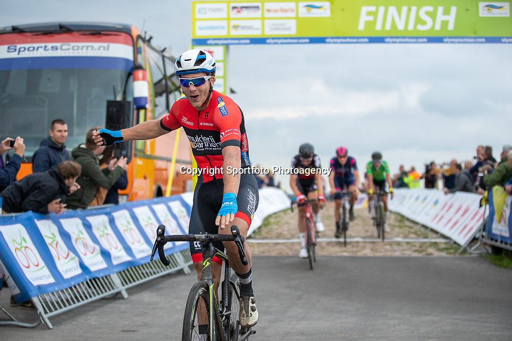17-10-2019: Wielrennen: Olympia Tour: Drijber<br /> Coen Vermeltvoort wint de eerste etappe van Olympia's Tour ronde de VAMberg