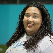 AUGUST 27, 2018--Cata&ntilde;o---PUERTO RICO--<br /> Mercy Corps Staff member Brendaly Dominguez, 23.<br /> (Photo by Angel Valentin/Freelance)
