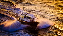 "The Pilot Cutter ""Humber Venus"" in the Humber estuary in evening light.<br /> <br /> (c) Andrew Wilson   Edinburgh Elite media"