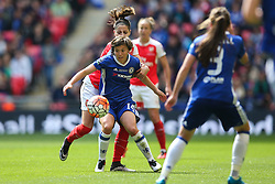 Francesca Kirby of Chelsea Ladies in action - Mandatory byline: Jason Brown/JMP - 14/05/2016 - FOOTBALL - Wembley Stadium - London, England - Arsenal Ladies v Chelsea Ladies - SSE Women's FA Cup