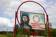Image of Ernesto Che Guevara in Mayari, Holguin, Cuba.