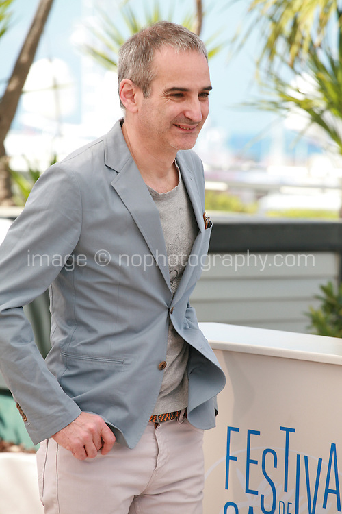 Director Olivier Assayas at the photo call for the film Sils Maria at the 67th Cannes Film Festival, Friday 23rd May 2014, Cannes, France.