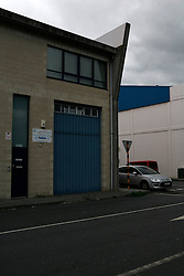 SPAIN GALICIA OZA 25AUG11 - Head office of Hooktone, the ship management agency in charge of some of the sbandoned fishing vessels in the port of Oza in La Coruna, Galicia, Spain...jre/Photo by Jiri Rezac..© Jiri Rezac 2011