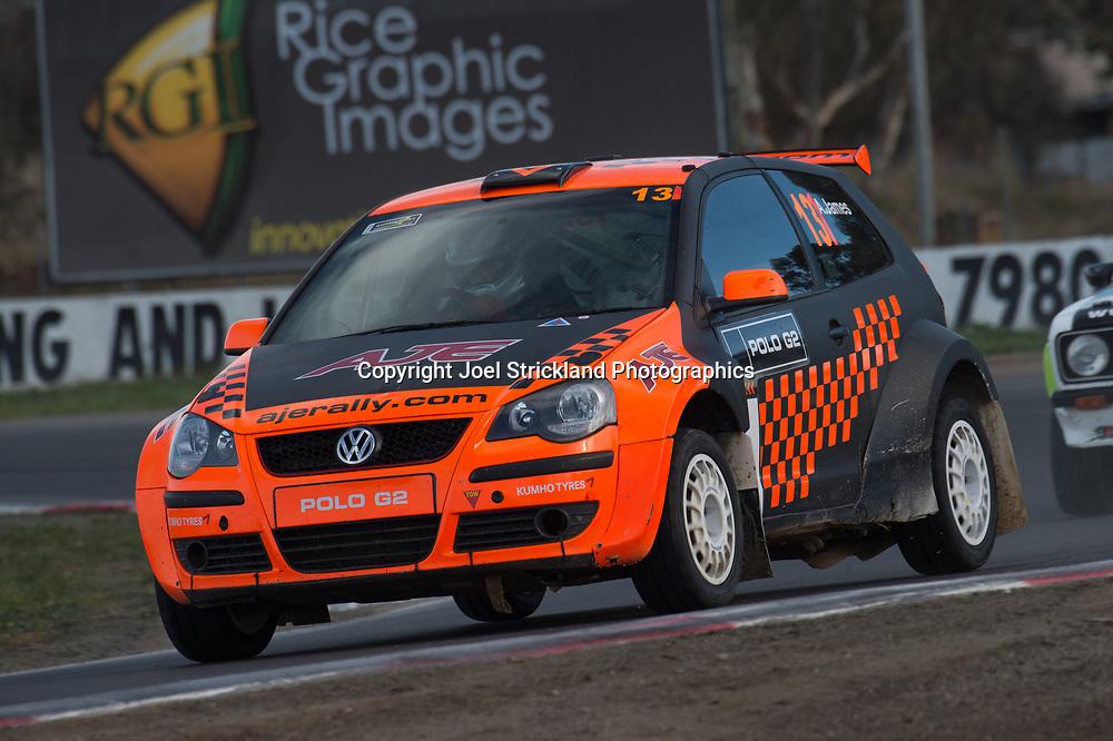 Ashlea James - VW Polo - Rallycross Australia - Winton Raceway - 16th July 2017