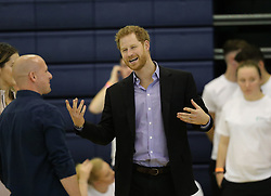The Duke of Sussex attends the Coach Core Awards at Loughborough University.