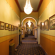 A corridor inside the historic Carrington Hotel in Katoomba in the Blue Mountains of New South Wales, Australia. The Carrington is an historic hotel established in 1880.