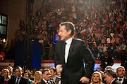 Meeting de Nicolas Sarkozy candidat aux elections 2012 a la presidence a Nimes dans le Gard