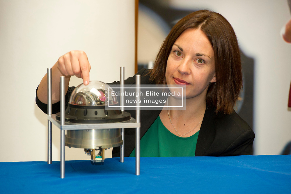 Pictured: Kezia Dugdale<br /> Scottish Labour leader Kezia Dugdale, Shadow Economy Secretary Jackie Baillie and Shadow Economy minister Richard Leonard visited Leonardo Airborne and Space Systems today to launch Scottish Labour's industrial strategy. <br />  <br /> Ger Harley | EEm 6 July  2017