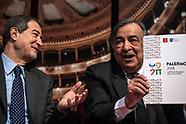 Palermo Capitale Cultura 2018: il Premier Gentiloni alla presentazione ufficiale