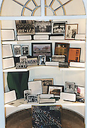 15541Marching 110 Alumni Band..display case..reunion directors/coach/pete speaking