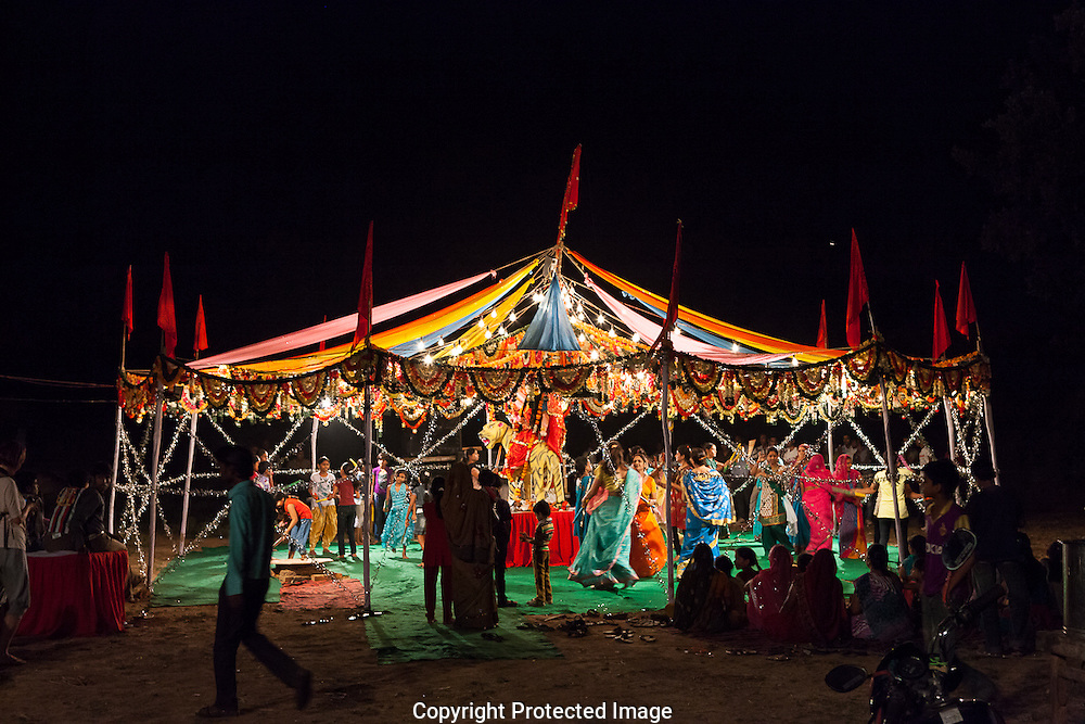 Durga festival in Bundi