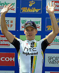 09.07.2011, AUT, 63. OESTERREICH RUNDFAHRT, 9. ETAPPE, EZF PODERSDORF, im Bild Tagessieger Bert Grabsch, (GER, HTC Highroad) // during the 63rd Tour of Austria, Stage 7, 2011/07/09, EXPA Pictures © 2011, PhotoCredit: EXPA/ S. Zangrando