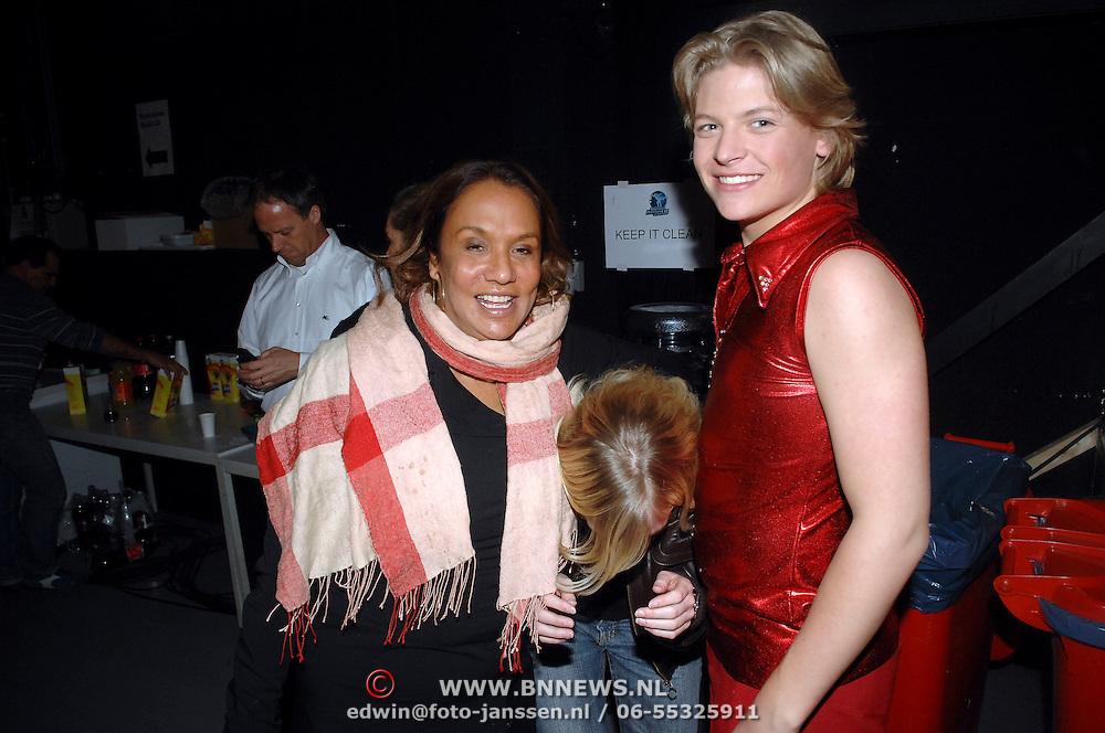 NLD/Hilversum/20070309 - 9e Live uitzending SBS Sterrendansen op het IJs 2007, Thomas Berge en Patty Brard