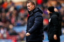 Leicester City manager Brendan Rogers cuts a frustrated figure - Mandatory by-line: Robbie Stephenson/JMP - 19/01/2020 - FOOTBALL - Turf Moor - Burnley, England - Burnley v Leicester City - Premier League