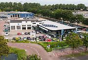 Luftbild Garage Gebäude