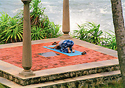 Yoga by the sea in Karela