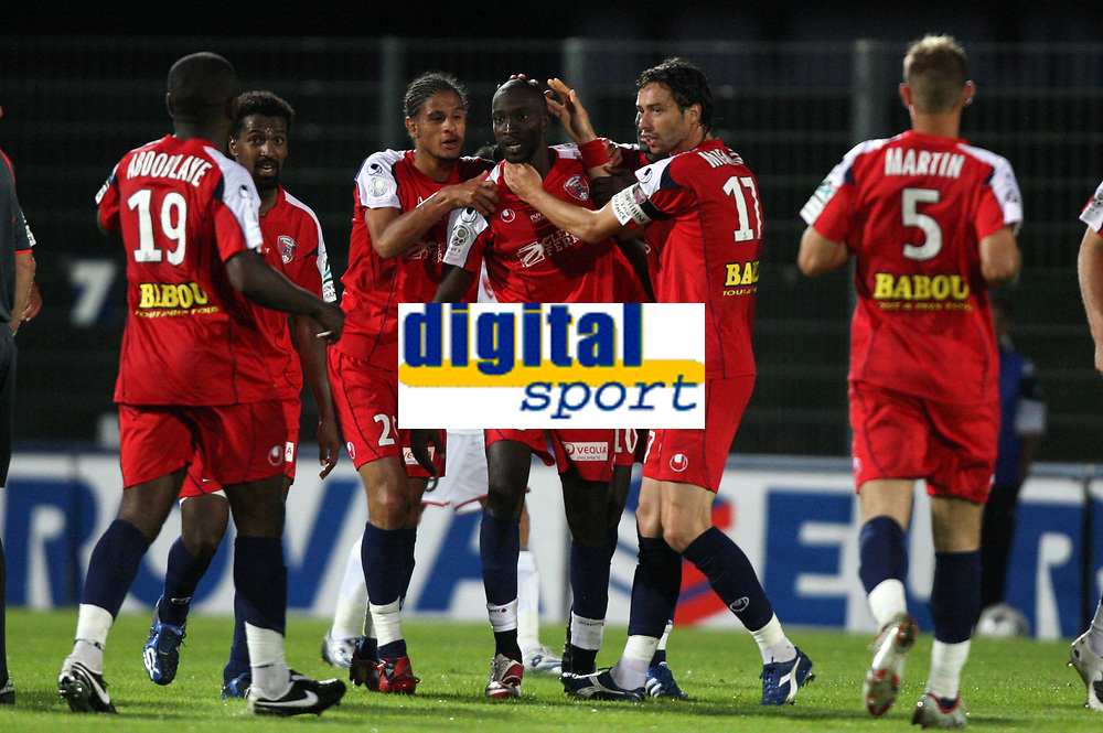 Fotball<br /> Frankrike<br /> Foto: Dppi/Digitalsport<br /> NORWAY ONLY<br /> <br /> FOOTBALL - FRENCH CHAMPIONSHIP 2008/2009 - L2 - CLERMONT FOOT v OLYMPIQUE NIMES - 15/08/2008 - JOY CLERMONT