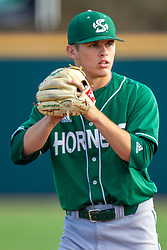 NORMAL, IL - April 08: Travis Adams during a college baseball game between the ISU Redbirds  and the Sacramento State Hornets on April 08 2019 at Duffy Bass Field in Normal, IL. (Photo by Alan Look)
