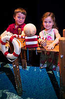 19/07/2017 Repro Free:  Sean and Laoise Colleran from Craughwell got to The Bot star of How to Catch a Star which runs   during the 40th Galway International Arts Festival in the O Dionoghue Theatre NUI,Galway. Photo:Andrew Downes, xposure .
