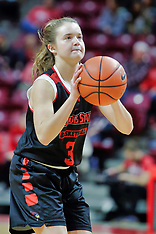2018-19 Illinois State Redbirds women's basketball photos