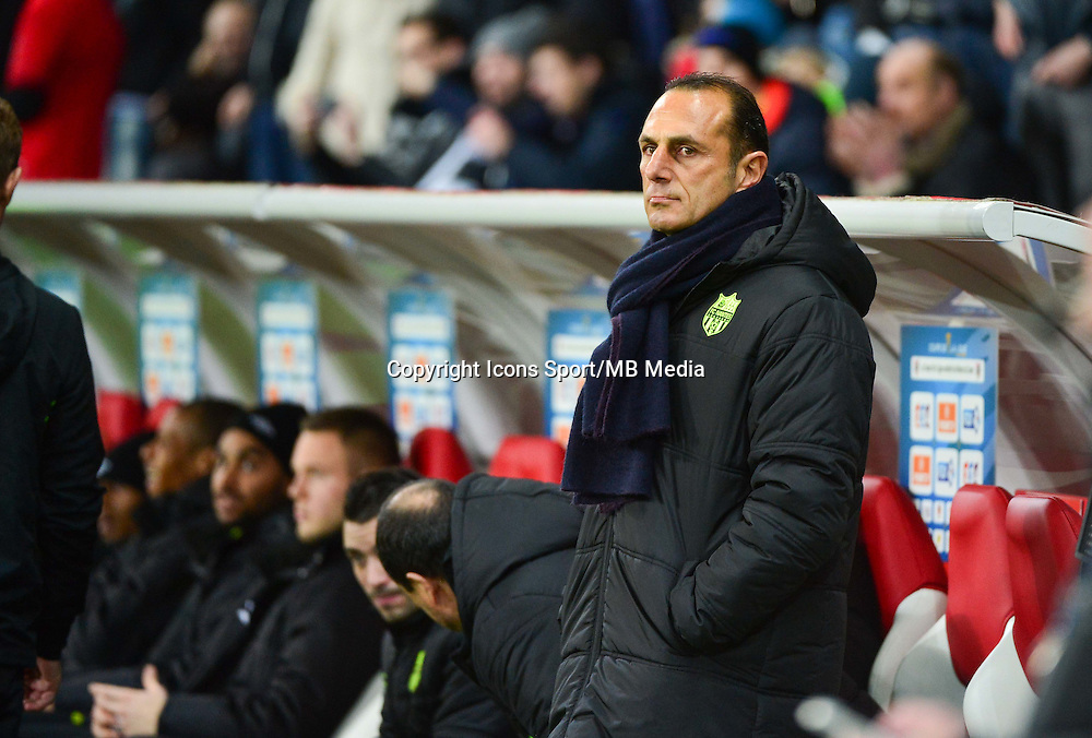 Michel DER ZAKARIAN - 14.01.2014 - Lille / Nantes - 1/4Finale Coupe de la Ligue<br /> Photo : Dave Winter / Icon Sport