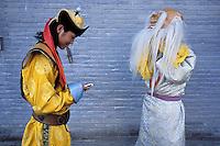 Mongolie. Oulan Bator (Ulaan Bataar). Monastère de Choijin Lama. Spectacle folklorique.// Folk show. Choijin Lama monastery. Oulan Bator. Mongolia