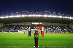A general view of the SkyBet branding before kick off - Mandatory by-line: Matt McNulty/JMP - 21/09/2018 - FOOTBALL - DW Stadium - Wigan, England - Wigan Athletic v Bristol City - Sky Bet Championship