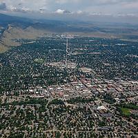 Boulder, Colorado Aerial Photographs, Stock Aerial Photographs of Boulder, CO