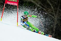 "Tina Robnik (SLO) competes during 1st Run of the FIS Alpine Ski World Cup 2017/18 5th Ladies' Giant Slalom race named ""Golden Fox 2018"", on January 6, 2018 in Podkoren, Kranjska Gora, Slovenia. Photo by Ziga Zupan / Sportida"
