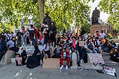 Britain Yemen Protests