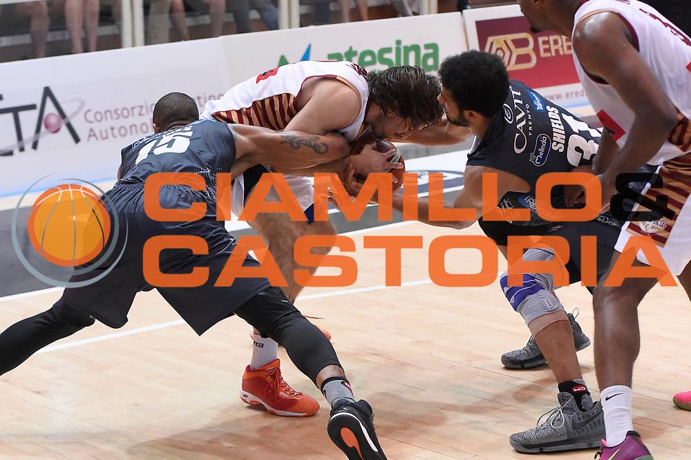Joao Gomes, Ariel Filloy, Shavon Shields<br /> Dolomiti Energia Aquila Basket Trento - Umana Reyer Venezia<br /> Lega Basket Serie A 2016/2017<br /> Playoff, finale gara 3<br /> Trento, 14/06/2017<br /> Foto M.Ceretti / Ciamillo-Castoria