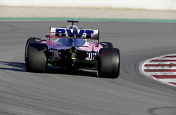 February 18, 2019 - Barcelona, Spain - Motorsports: FIA Formula One World Championship 2019, Test in Barcelona, , #11 Sergio Perez (MEX, Team Racing Point) (Credit Image: © Hoch Zwei via ZUMA Wire)