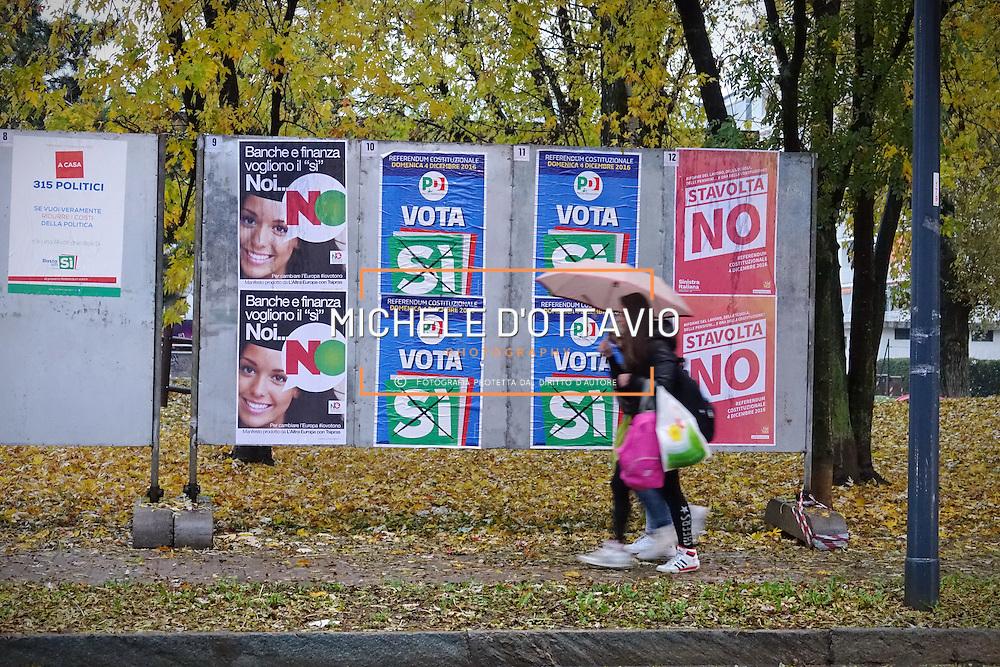 Manifesti Referendum costituzionale del 4 dicembre 2016
